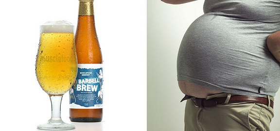 减肥美酒两不误:高蛋白啤酒Barbell Brew将上市