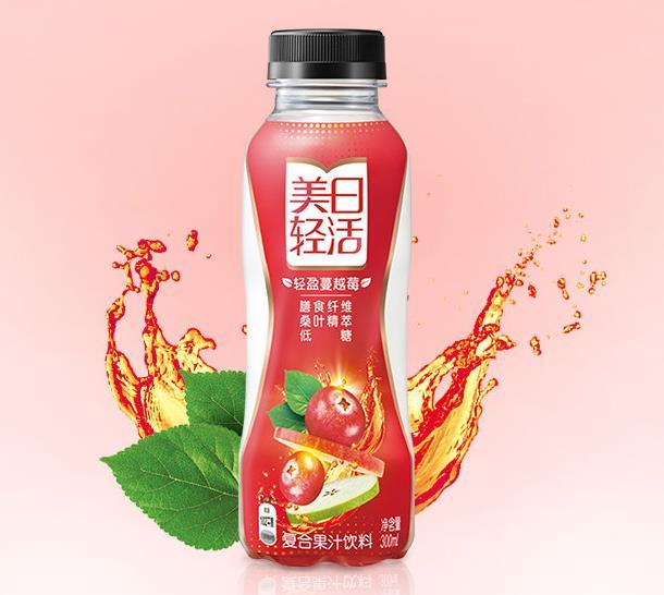 10亿美元品牌美汁源推美日轻活新品 300ml定价5元+你看好么?